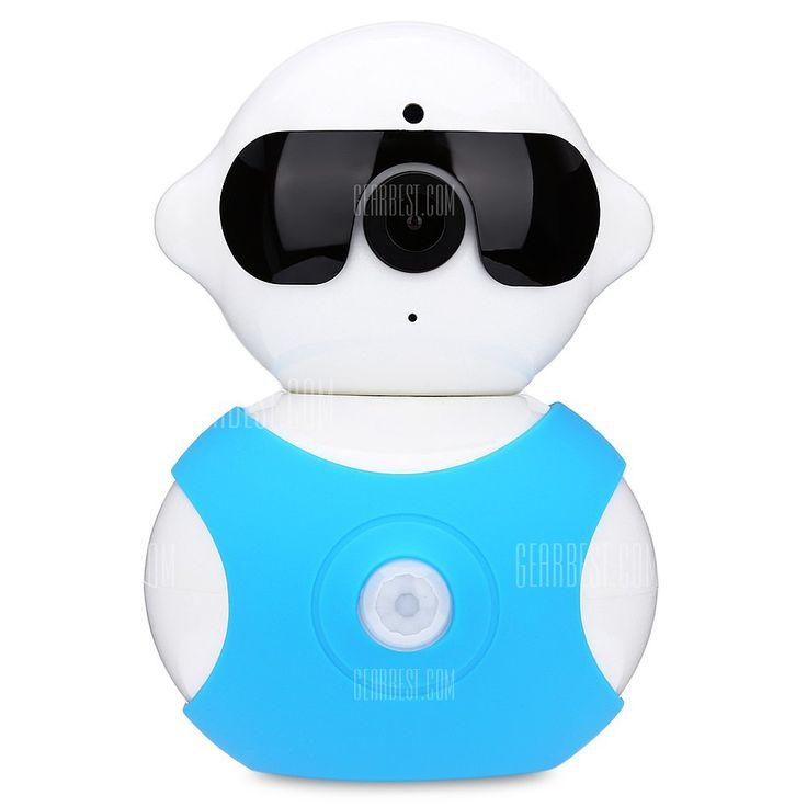A8 Wireless Dual HD Wireless 6db IR LED IP kamera-40,89 online vásárlás | GearBest.com