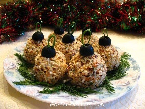 Appetizer «Christmas balls»