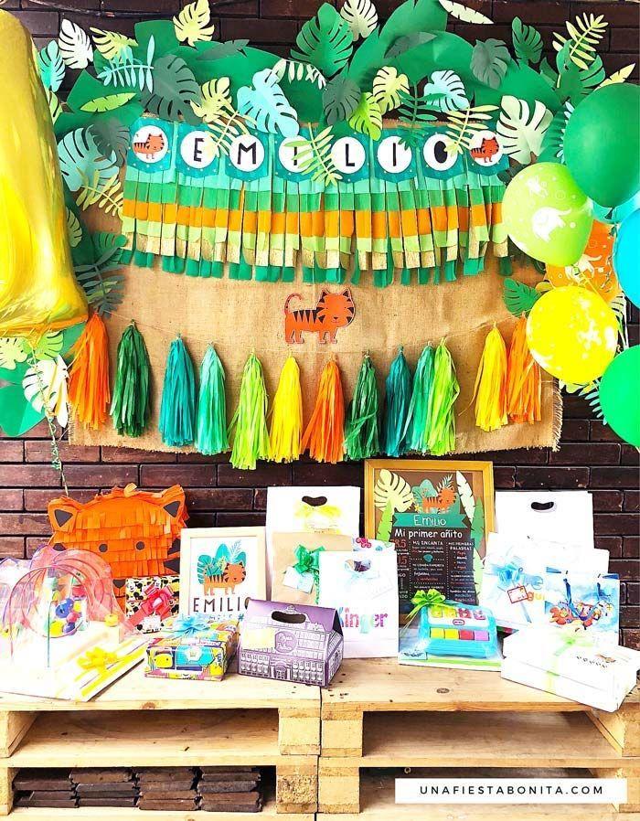 Ideas para decorar una fiesta temática de tigre