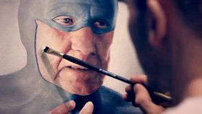 The old superhero in the mix – by artist Andreas Englund