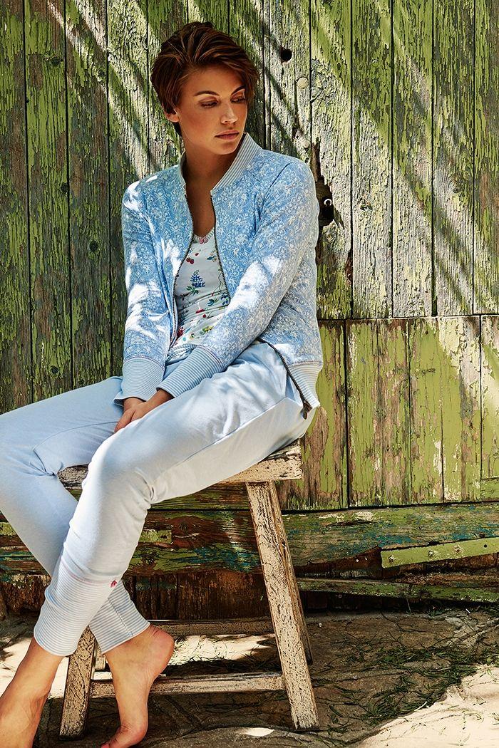 Pip Nicole Little Lacy Vest Blue