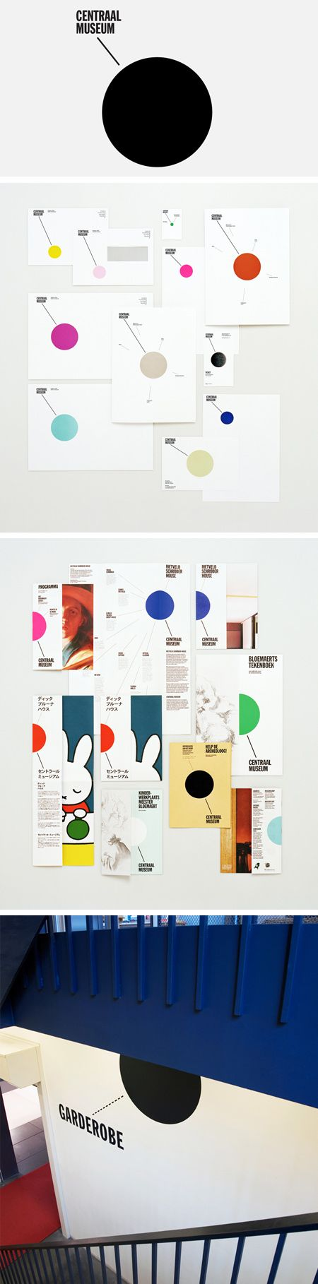 Branding for the Centraal Museum in Utrecht: by Lesley Moore