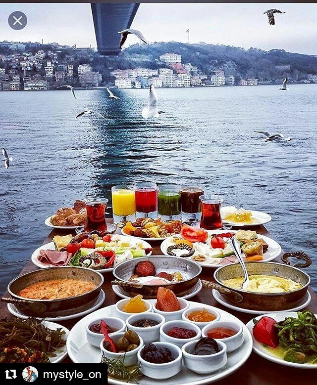 Turkish breakfast#turkey #paris #london #nyc #lasvegas #losangeles #like4like #likeforlike #amsterdam #berlin #köln #milano #cuba #tokyo #arabic #luxurylife #luxury #breakfast #travel #hotel #restaurant with @mystyle_on #repost  @prague.today