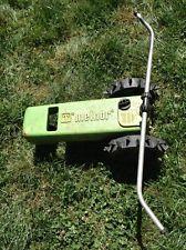 Melnor travelling tractor sprinkler.