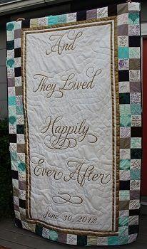 Quilt wedding guest book - 8 Alternative Keepsake Guest Books
