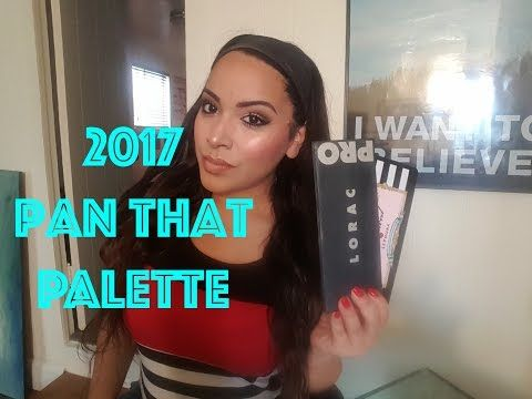 Pan That Palette 2017 // Intro // Lorac Pro & Too Faced Loves Sephora - YouTube