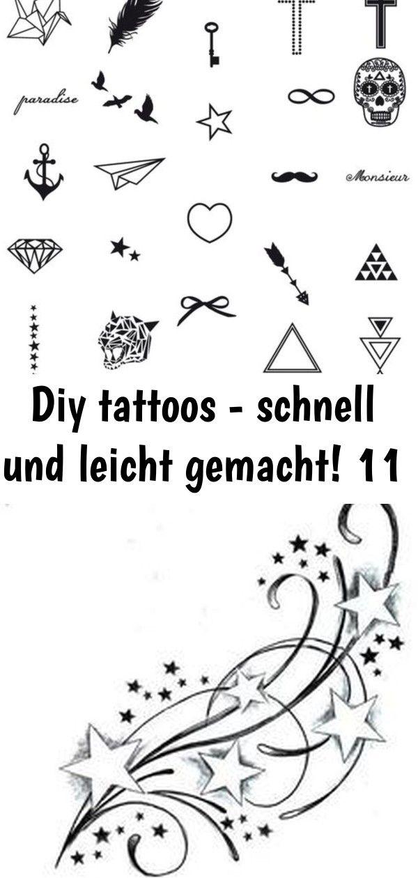 Diy Tattoos Schnell Und Leicht Gemacht Fake 0