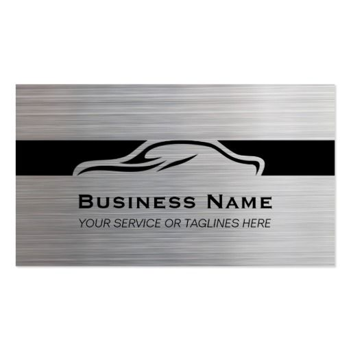 311 best auto repair business cards images on pinterest business auto repair car detailing automotive modern metal business card reheart Images