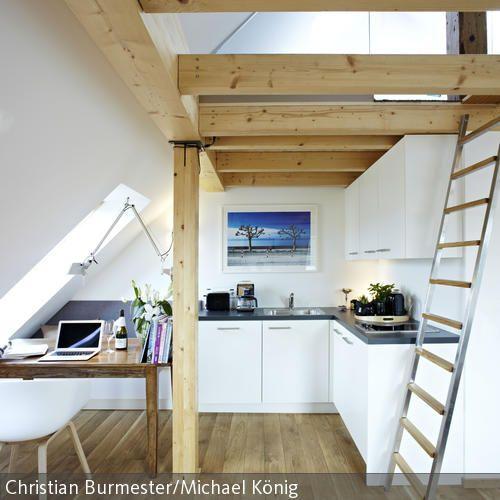 17 besten küche dachgeschoss Bilder auf Pinterest | Dachgeschosse ...