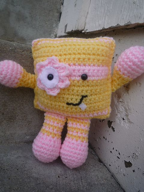 Amigurumi Ugly Doll : Ravelry: Baby Uglee pattern by Caroline Chrisco Crochet ...