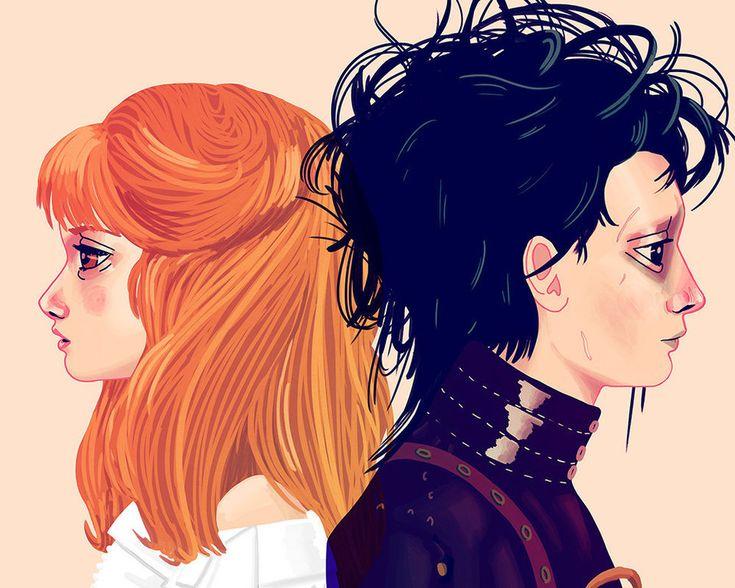 Graçureza sem fim! Casais pop ilustrados por Nan Lawson - Pêssega D'Oro