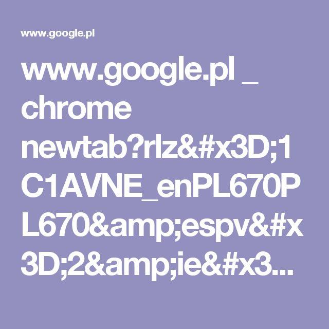 www.google.pl _ chrome newtab?rlz=1C1AVNE_enPL670PL670&espv=2&ie=UTF-8