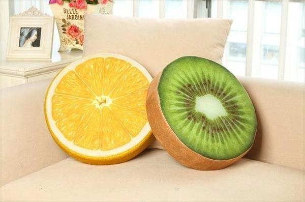 Kiwi & Lemon pillows