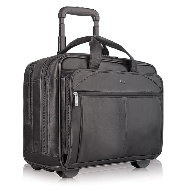 Solo Classic Checkfast Rolling 15.6-inch Laptop Case