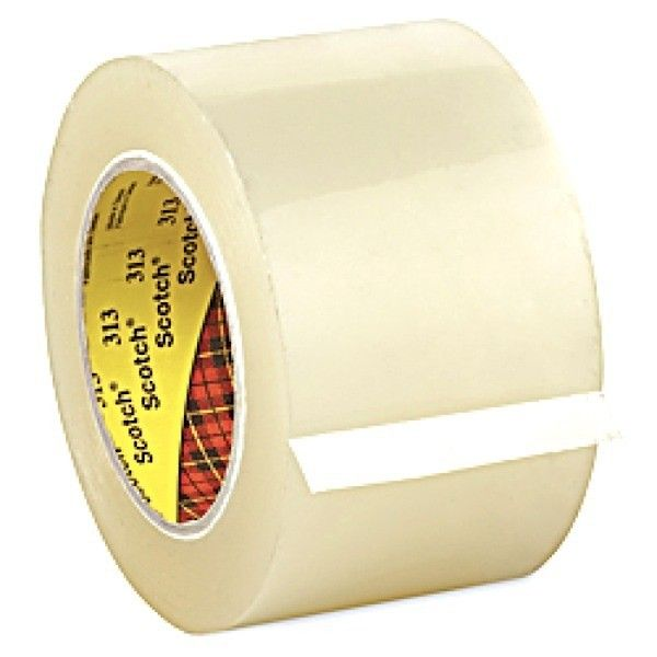 3M Scotch Box Sealing Tape 313 Clear (Isolasi Box), 72 mm x 100 m, Tebal: 0,065 mm - Lakban Bening Murah.     - Price per roll.  http://tigaem.com/single-tape/1681-3m-scotch-box-sealing-tape-313-clear-isolasi-box-72-mm-x-100-m-tebal-0065-mm-lakban-bening-murah.html  #scotch #sealingtape #isolasi #3M