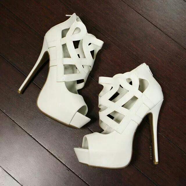 White heels ♡