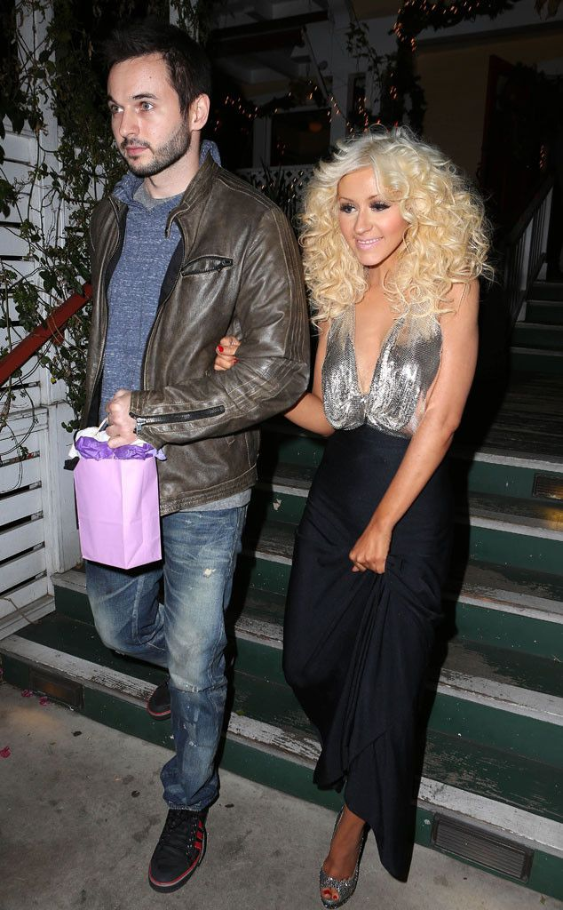 Christina Aguilera & Matthew Rutler from The Big Picture: Today's Hot Pics! | E! Online
