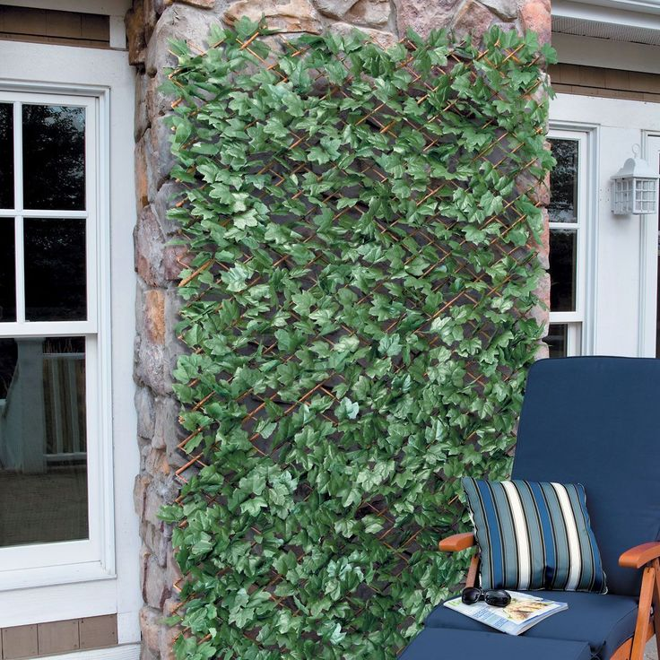 Expandable Faux Ivy Trellis Fireflies Patio And The O Jays