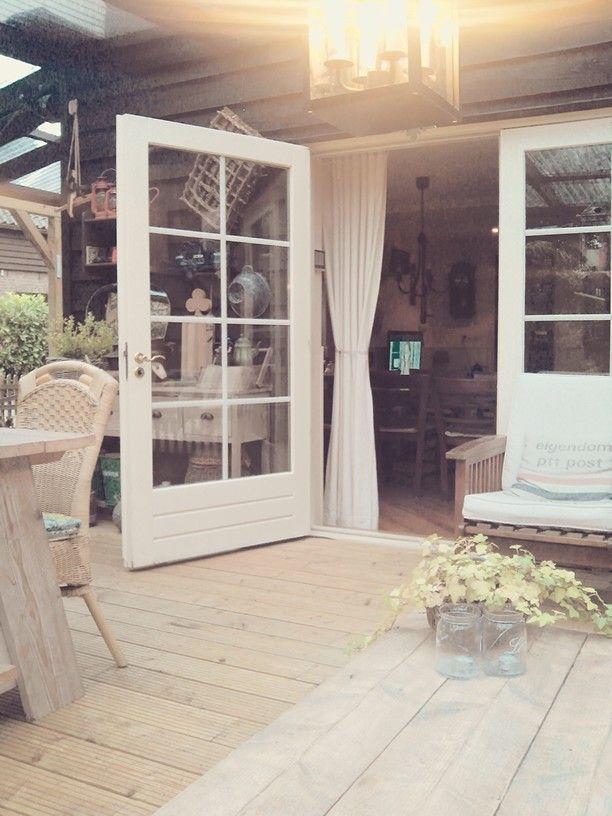 Eiken Keuken Marktplaats : Mooi weer de tuindeuren open Landelijk Huis in  de Ka
