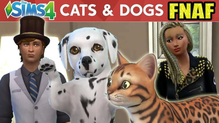 FREDDY AND CHICA MOVE IN  | FNAF Sims Story Part 1 |  Sims 4 Cats and Dogs