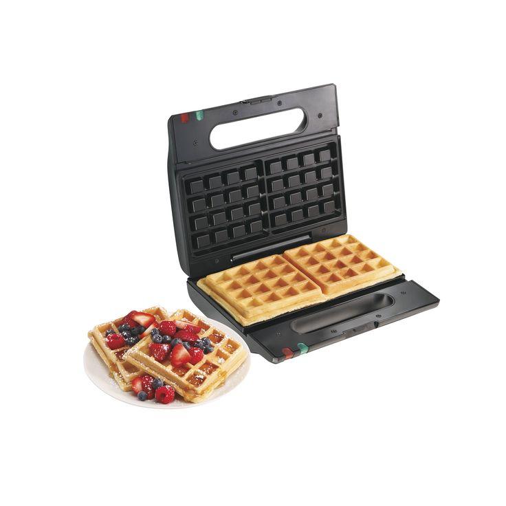 Proctor Silex Flip Belgian Waffle Baker (Belgian Style Waffle Maker), Black