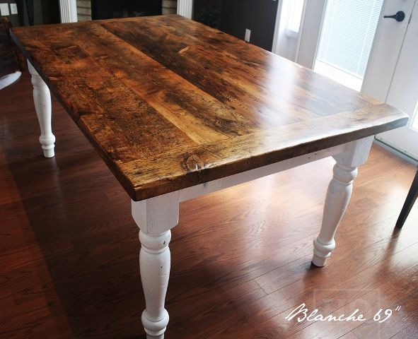 Another Option For Our Reclaimed Harvest Tablesu2026