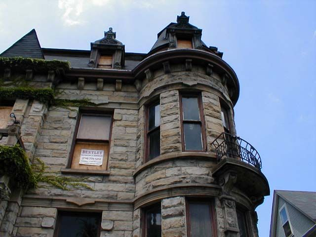 Cleveland's Franklin Castle has the distinction of being known as Ohio's most haunted house. It is a big, dark building with stone walls, a turret, and a six-foot wrought iron fence. Hans Tiedemann, a german immigrant who got rich from his barrel-making business and later the banking industry, built the house in the mid-1800's. The count varies, but it was supposed to have 21 rooms. It also featured a fourth floor ballroom accessible by its own staircase, marble fireplaces, dumbwaiters, wine…