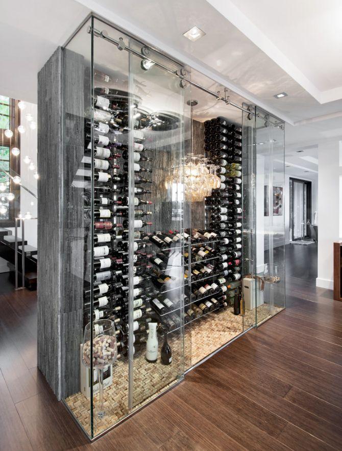 #winecellar Notice the DIY cork floor....LOVE!