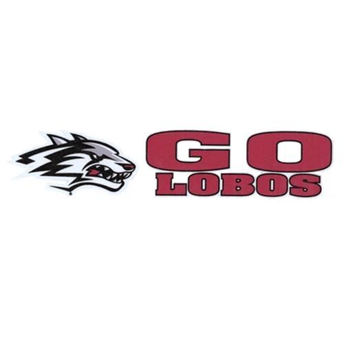 University of New Mexico Lobos logo -Go Lobos