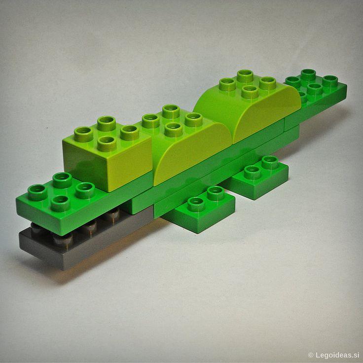 Lego Duplo Ichtyostega dinosaur | by lego_ideas