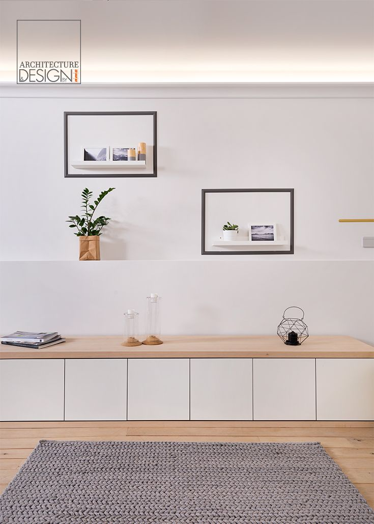 Mouldings for indirect lighting