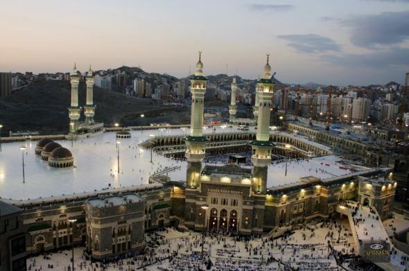 Masjid al-Haram, Saudi Arabia - largest mosque in the world