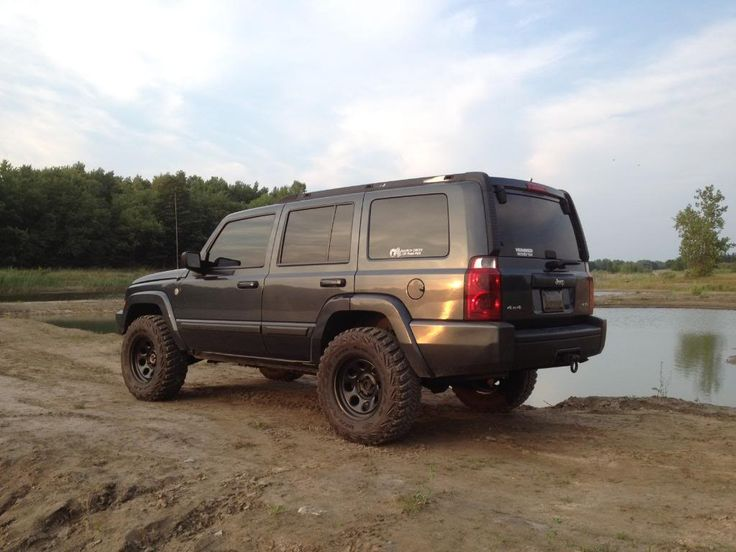 lifted jeep commander | 2007 4 7 liter xk front ome hd lift rear