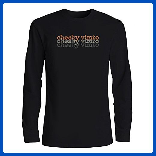 Idakoos - Cheeky Vimto repeat retro - Drinks - Long Sleeve T-Shirt - Retro shirts (*Amazon Partner-Link)