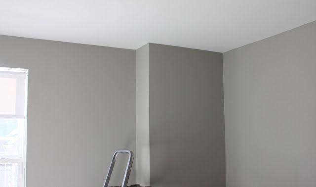Tone On Tone Wall Stripe Tutorial Dorian Gray Sherwin