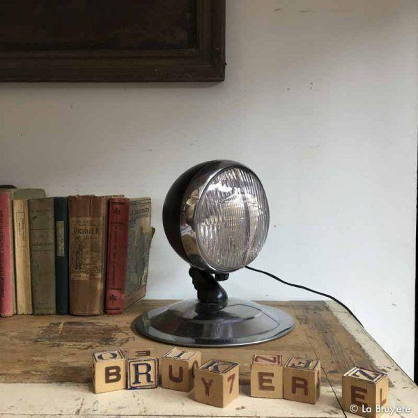lampe industrielle la bruy re en 2019 brocante de la. Black Bedroom Furniture Sets. Home Design Ideas