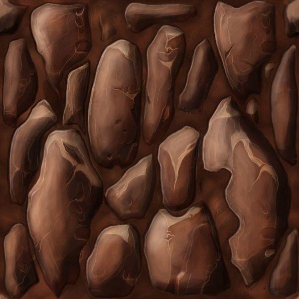 Hand Painted Textures by Ayhan Aydogan, via Behance
