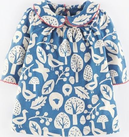 Mini Boden Pretty Collar Jersey Baby Dress Coastal Blue Comfy and cosy with some of our favourite prints this season on soft pure cotton jersey which wears and washes so well. Sweet picot trim on the pretty collar and poppers at the back. http://www.comparestoreprices.co.uk/baby-clothing/mini-boden-pretty-collar-jersey-baby-dress-coastal-blue.asp