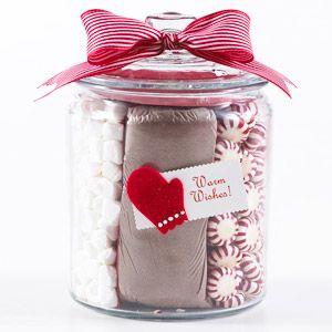 Christmas! Cocoa, marshmallows & mints - cute gift idea!