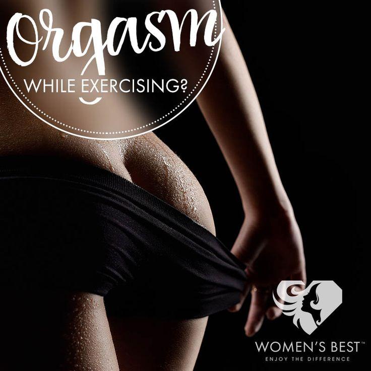 Orgasm while exercising? #womensblog