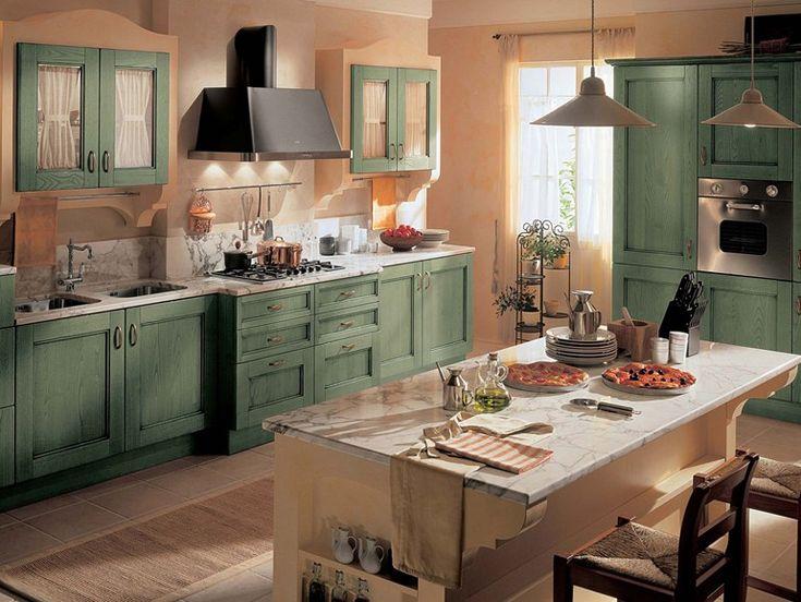Small Dark Khaki Kitchen Cabinets Pictures   Kitchen Design Ideas