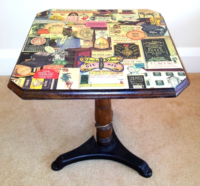 decoupage ideas for furniture. decoupage tablecoming soon this isnu0027t mine just inspiration ideas for furniture o
