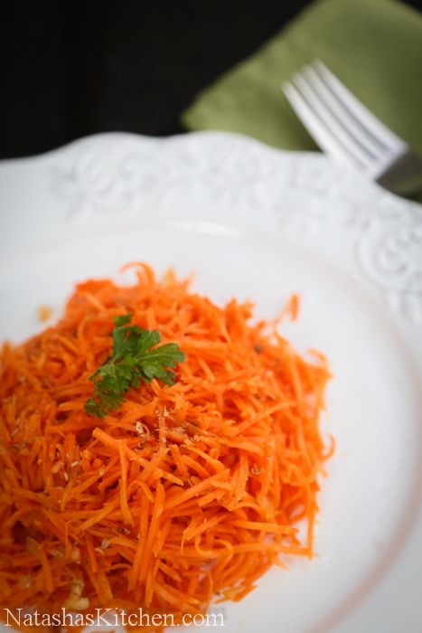Russian carrot salad with coriander (Корейская Морковь) - Natasha's Kitchen. http://natashaskitchen.com/2010/12/06/russian-carrot-salad-with-coriander/ or see She Simmers: http://shesimmers.com/2010/08/russian-korean-salad-%D0%BA%D0%BE%D1%80%D0%B5%D0%B9%D1%81%D0%BA%D0%B0%D1%8F-%D0%BC%D0%BE%D1%80%D0%BA%D0%BE%D0%B2%D1%8C.html