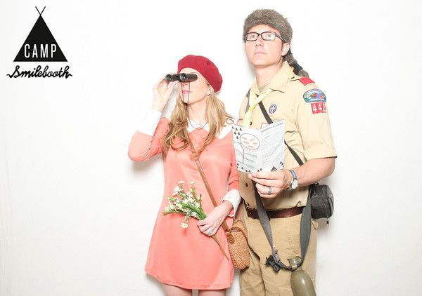 CAMP dance party! @smilebooth #wesanderson