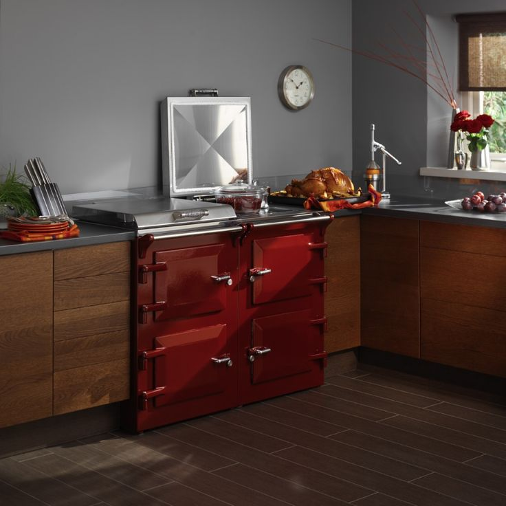 Red Everhot Cooker