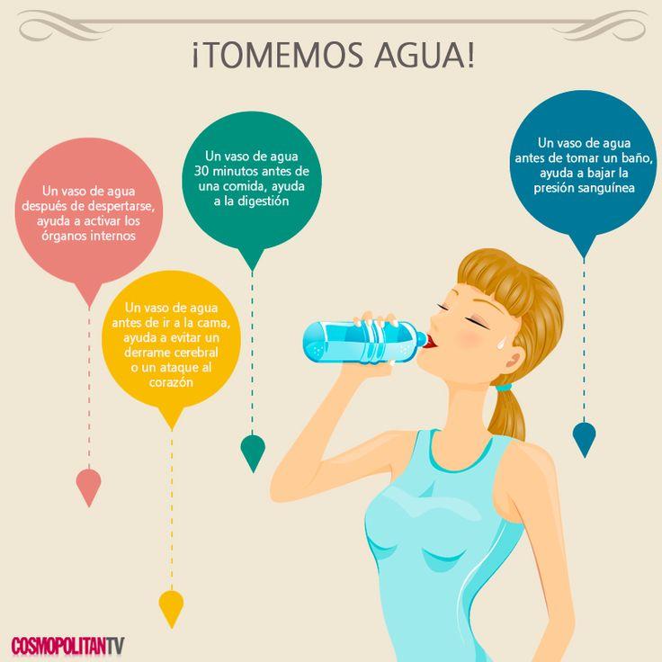 A tomar agua beneficios de tomar m nimo 8 vasos de agua - Vaso con agua ...