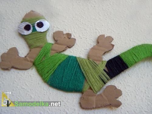 Lizard Bookmark
