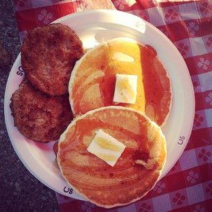 Stampede Breakfasts! YUM!