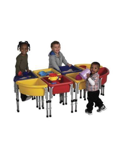 Toy Storage Bins Kids Share Organizers Daycare Ideas Playroom Shelving Preschool | eBay