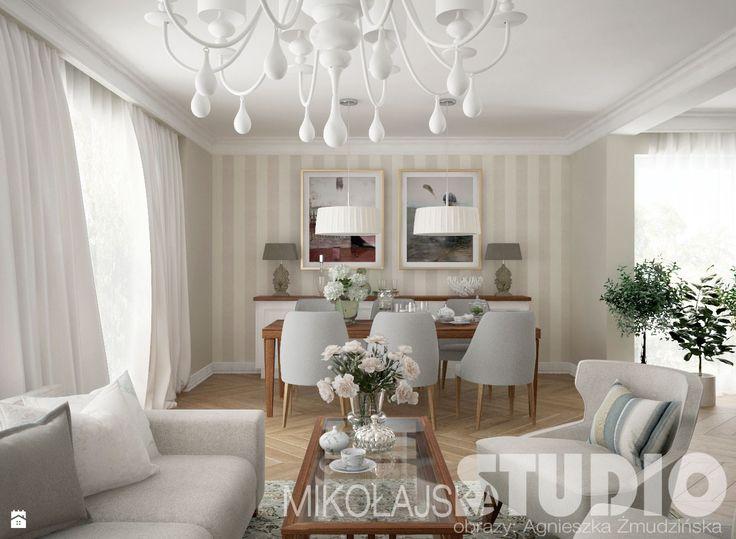 Elegancki salon - zdjęcie od MIKOŁAJSKAstudio - Salon - Styl Klasyczny - MIKOŁAJSKAstudio